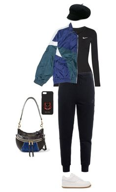 """""""Sin título #951"""" by hongron ❤ liked on Polyvore featuring NIKE and Miu Miu"""