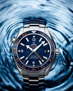 Omega Seamaster Planet Ocean GMT 600 m GoodPlanet – Diving Watches Omega Seamaster Planet Ocean, Omega Planet Ocean, Dream Watches, Fine Watches, Luxury Watches, Cool Watches, Watches For Men, Latest Watches, Bracelet Nato