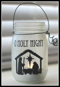25 Best Christmas Nativity Crafts for Kids in Your Children's Ministry - Mason Jars Christmas Vinyl, Christmas Nativity, Christmas Projects, Holiday Crafts, Christmas Crafts, Christmas Bells, Christmas Printables, Summer Christmas, Childrens Christmas
