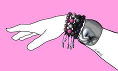 5 Fashion-Tipps wie Sie Armbändern richtig stylen: Wussten Sie, dass Armbändern heimliche Figur-Knüller und Stil-Helden sind? Im Blog der Modeflüsterin erfahren Sie mehr: www.modefluesterin.de