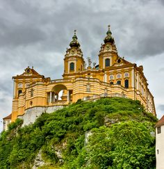 Melk Abbey - Melk, Lower Austria  This is one of the most beautiful places that I've ever been to.