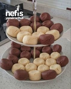 10 Minuets : Non-Milk Eggs Cookie Recipes, Dessert Recipes, Candy Recipes, Turkish Sweets, Chocolate Lasagna, Candy Cookies, Turkish Recipes, Popular Recipes, Easy Cooking