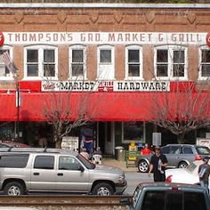 Thompson's Grocery. The perfect boutique grocery store.