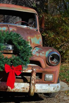 very old Chevy Pickup truck by tsorningold, via Flickr