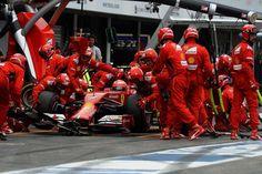 #GPGER Hockenheim #F1 2014 #Raikkonen #Ferrari