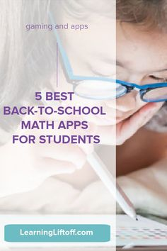 These five math apps are popular with parents and are effective in helping kids improve their math skills.Try one for extra back-to-school math support.