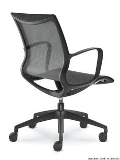 Basic Collection, Everyday 750 #office #chair #adjustable #furniture #black #plastic