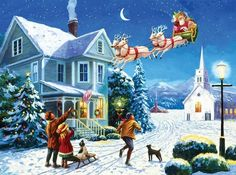 Santa's Here by Kevin Walsh