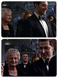 Richard Armitage and HIS MUM! At a premiere. Oh she must be SO proud of her boy! *melts*