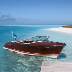 This lovey Riva Aquarama 1st series is based in the Bahamas, because Riva are really all over the Word!!