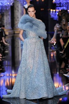 Sfilate Elie Saab Alta Moda Autunno-Inverno 2014-15 - Sfilate Parigi - Moda Donna - Style.it