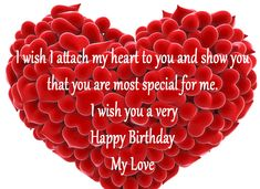 Birthday Wishes For Love Partner Birthday Images And Quotes intended for Love Birthday Quotes - Best Birthday Party Ideas Birthday Wishes For Bf, Happy Birthday Love Quotes, Happy Wedding Anniversary Wishes, Romantic Birthday Wishes, Happy Birthday Status, Birthday Wish For Husband, Happy Birthday Fun, Birthday Messages, Special Birthday
