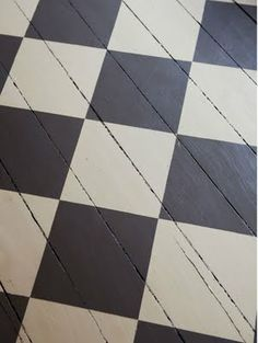 Great paint job on the floor via. 16 House