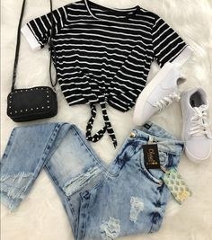 Casual Outfit Ideas for Teens - Casual Outfits for Daytime- Klicken Sie auf die . - outfits Best Picture For Casual Outfit ideas For Your Taste You are looking for something, and it is going to tell Cute Teen Outfits, Cute Outfits For School, Teen Fashion Outfits, Teenager Outfits, Mode Outfits, Cute Summer Outfits, Cute Fashion, Stylish Outfits, Summer Clothes For Teens