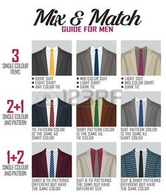 Pattern mix and match guide for men suit and shoes. Pattern mix and match guide for men suit and shoes. Suitable and appropriate color match variations for various events, formal, business, casual and other. Mens Style Guide, Men Style Tips, Style Men, Capsule Wardrobe Men, Mens Wardrobe Essentials, Suit Guide, Suit Combinations, Suit Pattern, Business Casual Men