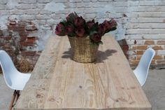 8 Seater Table Recycled Wood, Recycling, Dining Table, Home Decor, Salvaged Wood, Decoration Home, Room Decor, Dinner Table, Upcycle