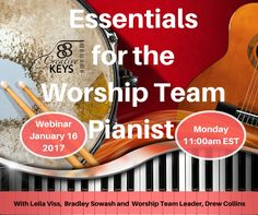 Essentials for the Worship Team Pianist