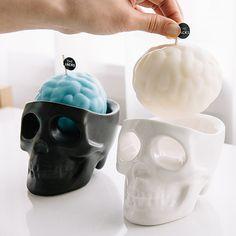 Bem Legaus!: Crânios de velas