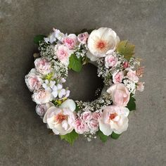 rosy.  mostly jacqueline du pré.  #flowerfarmer #japanesespirea #heirloomroses