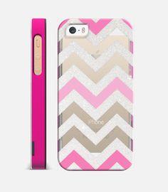 FUNKY SILVER CHEVRON PINK Crystal Clear iphone case Edit $39.95 Free shipping today   #silver #chevron #pink #iphonecase #iphone #case #transparent #crystalclear #premium #monikastrigel #casetify #casetagram #pinkframe #cute