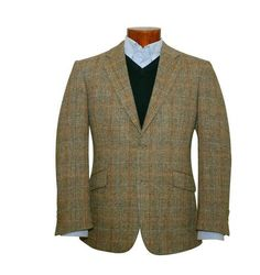 Genuine New Mens Fitted Harris Tweed Light Weight Wool Hamish Jacket on SALE £169.95