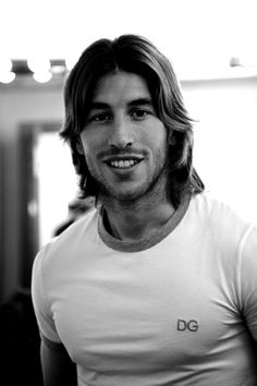 Football in Black and White Football Soccer, Football Players, Sergio Ramos Hairstyle, Stud Muffin, Just A Game, European Football, Sports Photos, Neymar, Bad Boys