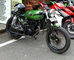 Honda gl 125 caferacer