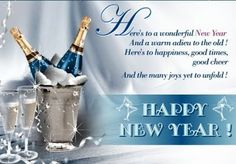 heres to a wonderful new year champagne graphic happy new year happy new year quote happy new year greeting