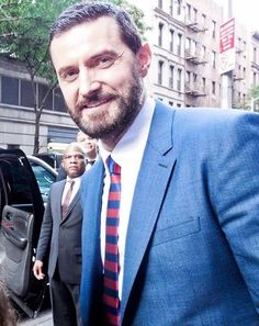 Richard Armitage at the New York premiere of Into the Storm August 4 2014