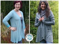 Basic Cardigan by Follow Me Design - Nähanleitungen bei Makerist