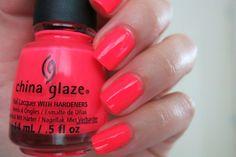 COLORES: CHINA GLAZE -POOL PARTY- #nails #nailart #neon #esmaltes #uñas #chinaglaze #poolparty