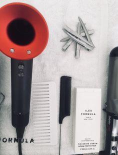Exklusiv: Beim Haarstyling von Heidi Klum - Vogue.de