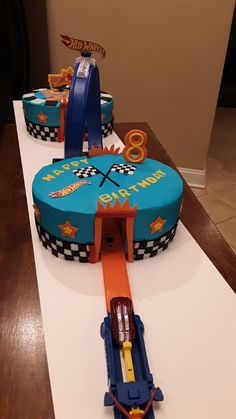 The appealing Hot Wheels Cake Birthday Party Hot Wheels Birthday Inside Hotwheels Birthday Party Cake image below, is part of Hotwheels Birthday Party Cake post which is grouped within Birthday Ideas and posted at January Hot Wheels Party, Bolo Hot Wheels, Hot Wheels Cake, Hot Wheels Birthday, Race Car Birthday, Cars Birthday Parties, Boy Birthday, 7th Birthday Cakes For Boys, Car Birthday Cakes