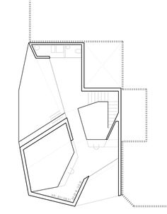 Grupo Aranea Architects built a new penthouse suite for a young musician in Cehegin Neighborhood in Murcia, Spain Architecture Drawings, Modern Architecture, Penthouse Suite, Ground Floor Plan, Granada, Inspire Me, Building A House, The Neighbourhood, Home And Family