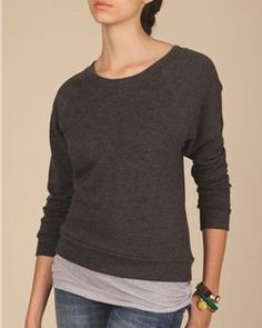 Alternative - Ladies' French Terry Raglan Sweatshirt - 9820