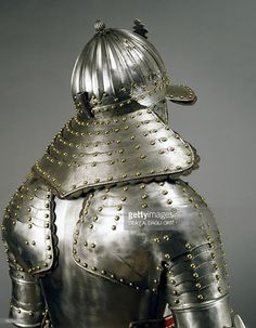 Stock Photo : Corselet in steel, circa 1640, Netherlands, 17th century, Detail