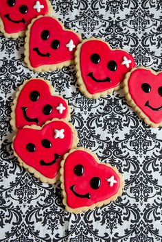 [the story behind these cookies will melt your heart] mended heart cookies