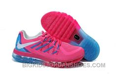 Buy Nike Air Max 2015 Kids Shoes Anti Skid Wearable Breathable Sneakers Pink Sky Blue from Reliable Nike Air Max 2015 Kids Shoes Anti Skid Wearable Breathable Sneakers Pink Sky Blue suppliers. Nike Sb Shoes, New Jordans Shoes, Nike Shoes Cheap, Kids Jordans, Kid Shoes, Running Shoes, Cheap Nike, Adidas Shoes, Jordan Shoes For Women