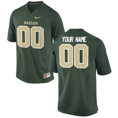 You can put ANY name and ANY number on this custom Baylor Bears football jersey! Oh, the possibilities... #SicEm