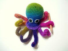 AllSoCute Amigurumis: Amigurumi Octopus Pattern, Crocheted Octopus Pattern