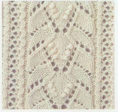Lace Knitting Stitch #50