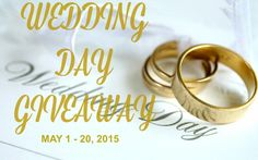 Ogitchida Kwe's Book Blog : BLOGGER OPP Wedding Day Giveaway! Sign UP TODAY! 2...
