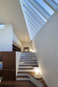 Casa-sakanoue  By acaa / Kazuhiko Kishimoto  via Japan Architects