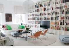 good idea for home library