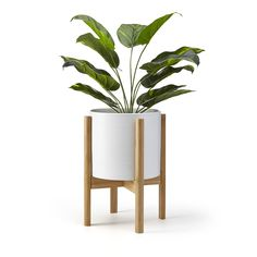 Yosoo Adjustable Wood Plant Stand Flower Rack,Modern Wood Plant Stands Flower Rack Garden Planter Holder Display Potted for Balcony Living Room Bamboo Plants, Indoor Plants, Pot Plants, Home Decor Accessories, Decorative Accessories, Modern Plant Stand, Wooden Plant Stands, Modern Planters, Affordable Home Decor