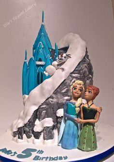 My last Frozen cake, EVER! :)