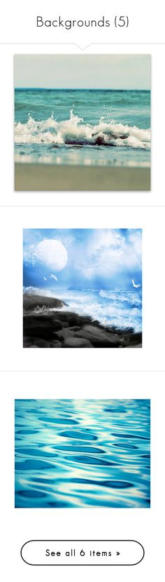 """""""Backgrounds (5)"""" by asia-12 ❤ liked on Polyvore featuring backgrounds, farm, home, home decor, wall art, canvas home decor, stretched canvas, canvas wall art, cottage home decor and ocean wall art"""