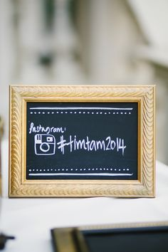 Stalk your hashtag: http://www.stylemepretty.com/collection/2577/
