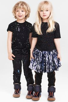 A new collection that recreates pieces from the womenswear collection for kids