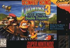 Donkey Kong Country 3: Dixie Kongs Double Trouble - SNES Game Original Super Nintendo SNES game cartridge only. All DK's classic used games are cleaned, tested, guaranteed to work and backed by a 120